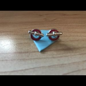 Marc by Marc Jacob toggle earring